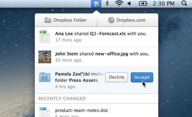 Dropbox renueva la interfaz de su cliente de escritorio  http://www.genbeta.com/p/74944