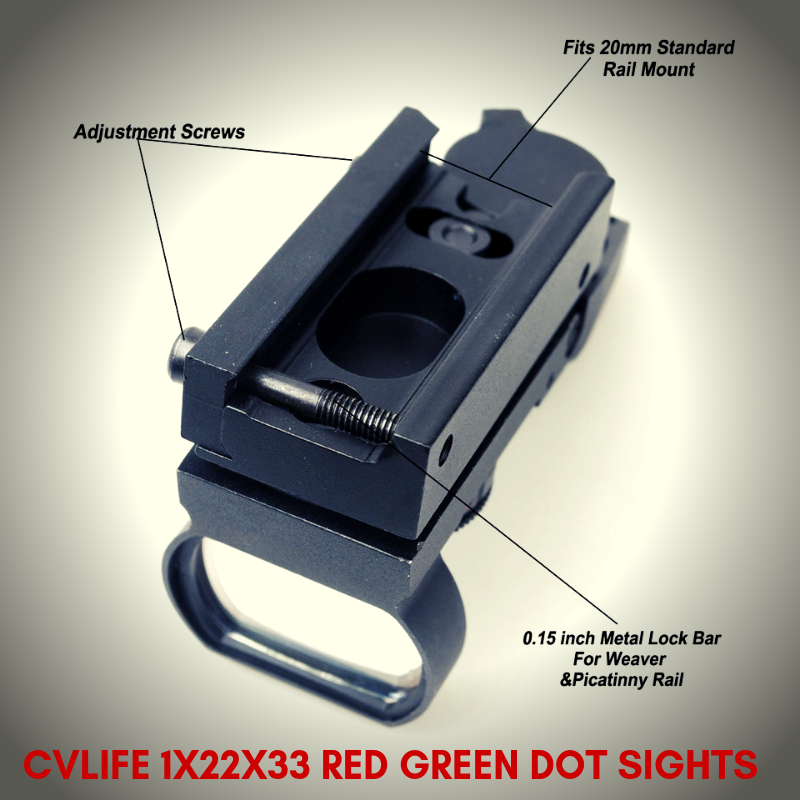 This Is A Cheap Red Dot Sight There S No Auto On Auto Off You Turn It Off By Turning The Dial To R Or G It Has 5 Intensity Red Dot Sight Green