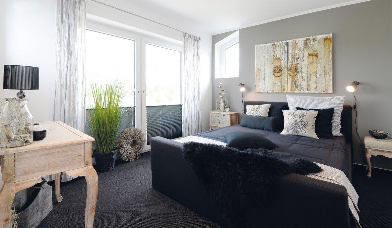 Schlafzimmer Farben ~ Schlafzimmer farben grau schwarz holz inneneinrichtung haus