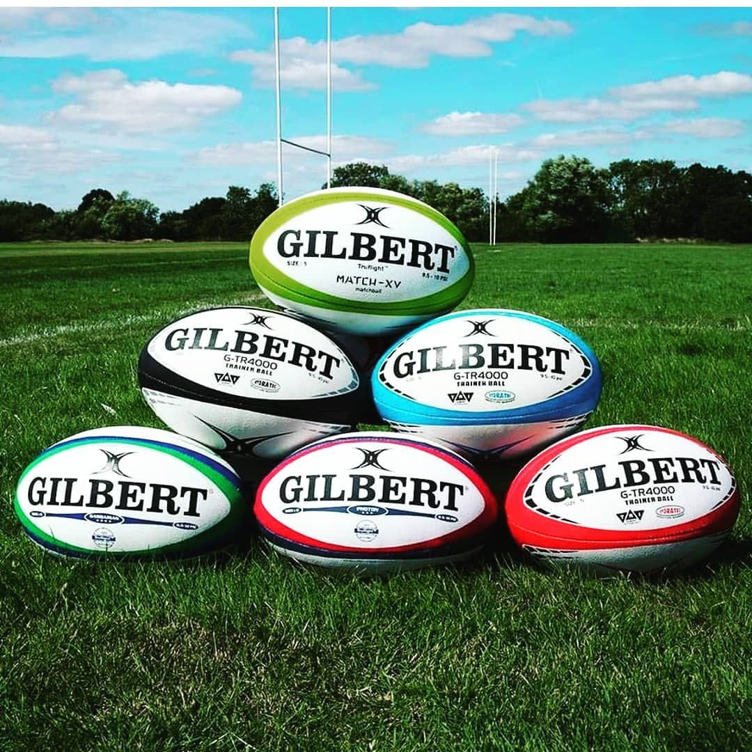 Stocking full range of gilbert_union Rugby balls and