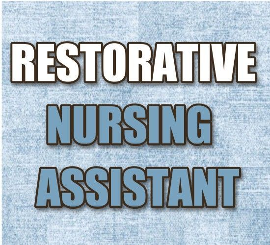HttpMedicalcareersiteComCnaRestorativeAide Restorative