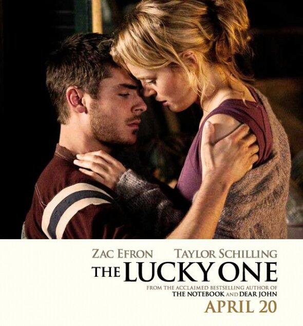 Its one of the best romantic movies   The lucky one movie