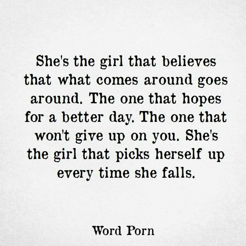 Women about inspirational quotes