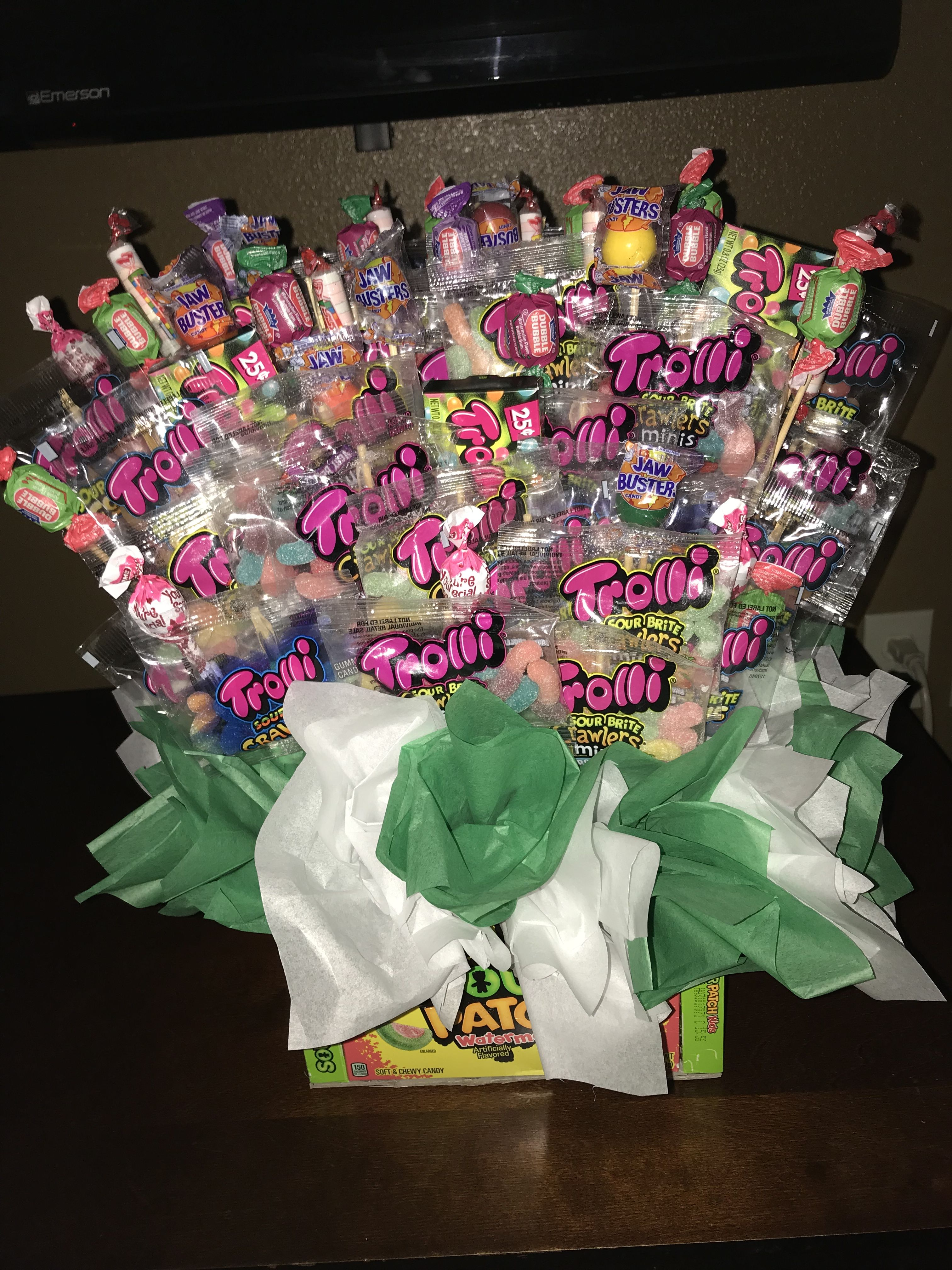 Pin by gaby chu on regalos pinterest candy bouquet easter and birthdays izmirmasajfo