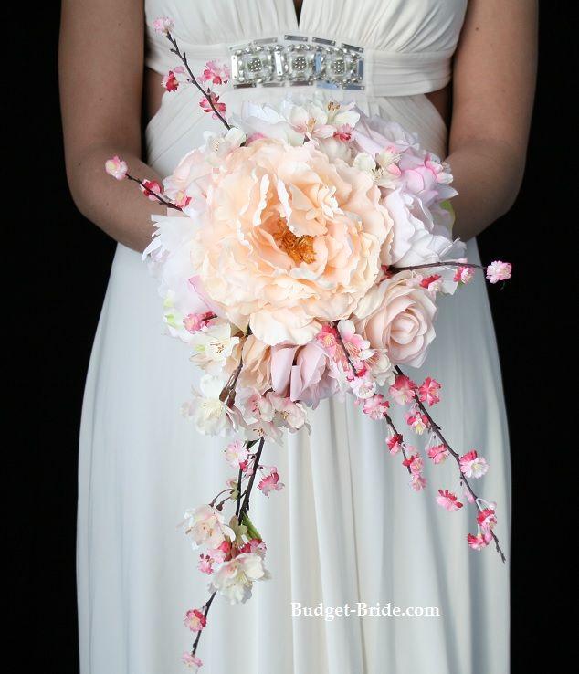 Cherry Blossom Wedding Bouquet