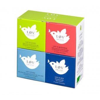 Løv Organic Tea - Wellness Geschenkbox