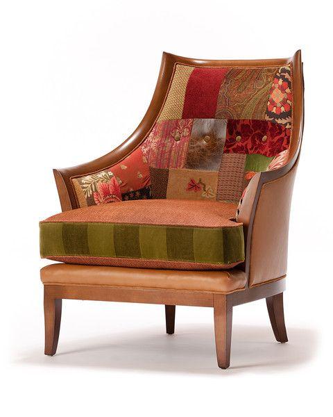 Charming Salmagundi Chair/Earth Palette