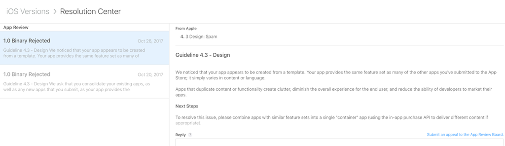Apple's widened ban on templated apps is wiping small