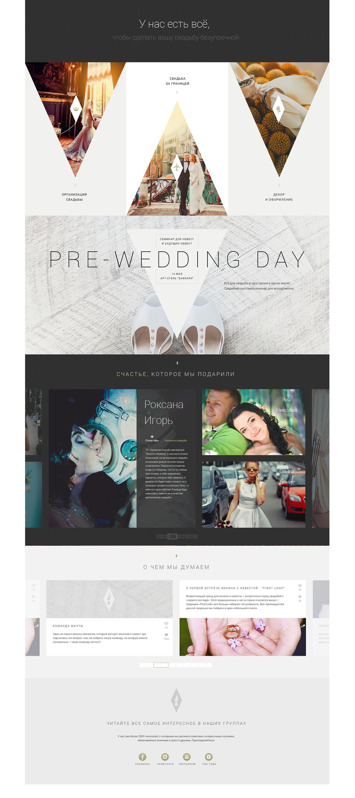 Simonna Weddings Web Design Website Design Branding