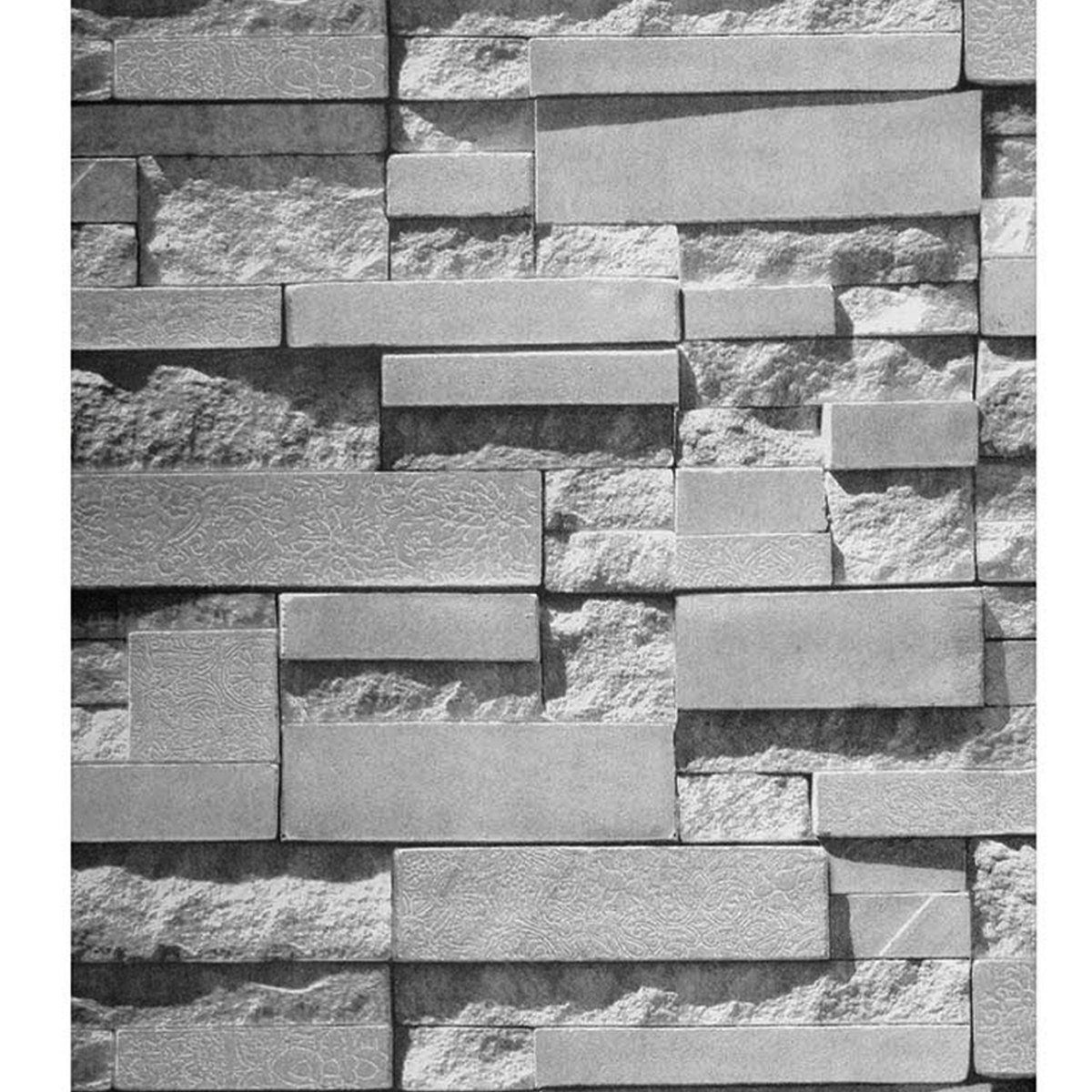 57sq Ft 393 7 X 21 3d Effect Brick Stone Wallpaper Roll Textured Removable Waterproof For Home Design And Room Decoration Super Large Size Walmart Com In 2020 Stone Wallpaper Brick Wallpaper Brick And