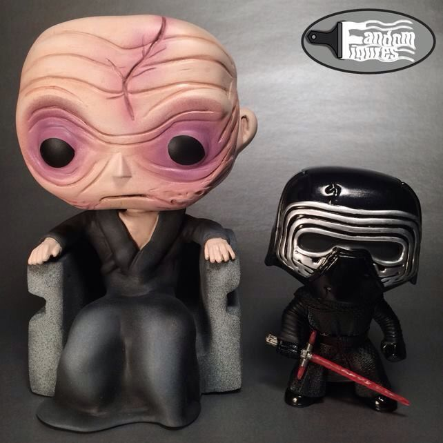 Supreme Leader Snoke Custom Funko POP! from Star Wars The Force Awakens