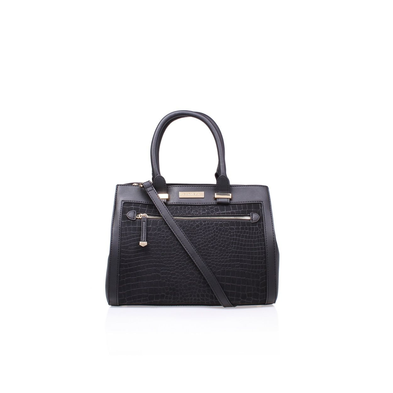 Nicole Zip Front Bag by Carvela Kurt Geiger in Synthetic.