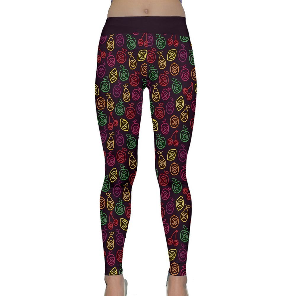 579398ed6bf715 New Fruits Printed Women's Activewear Fitness Yoga Pants Leggings Size  XS-3XL