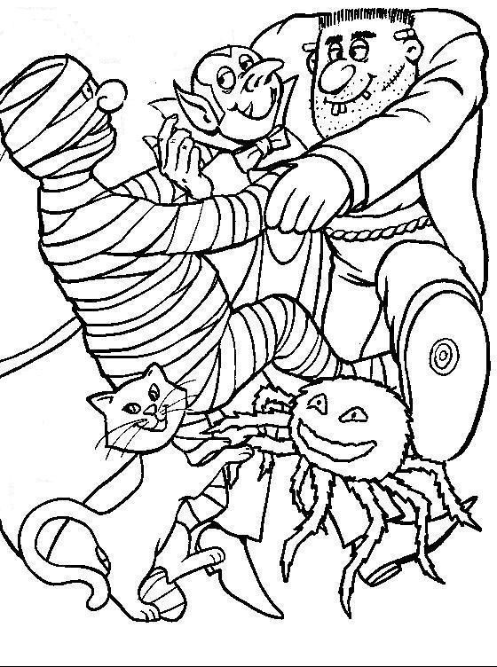 Enter Page Title Here | Halloween coloring pages ...
