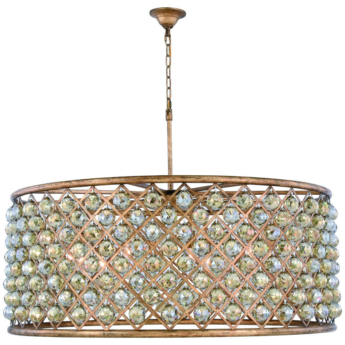 Elegant Lighting 10 Lights Madison Pendant