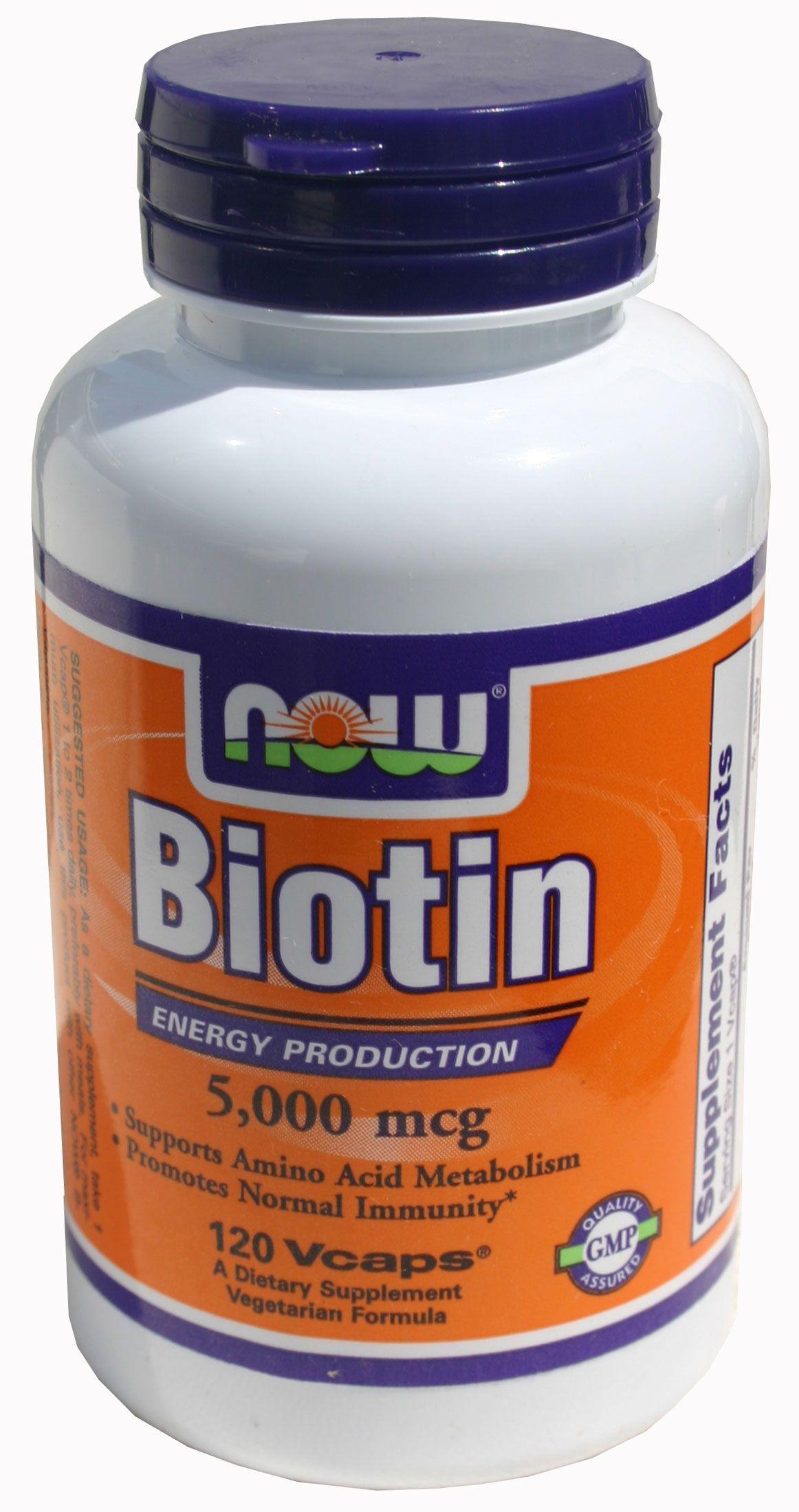 Hair Vitamins Biotin
