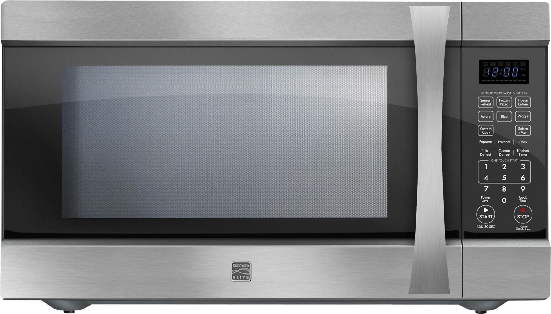 Kenmore Elite Countertop Microwave 2 2 Cu Ft 75223 Sears