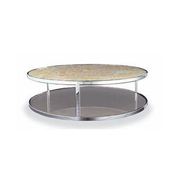 Minotti chrome coffee table | M O D E R N ♡ | Pinterest