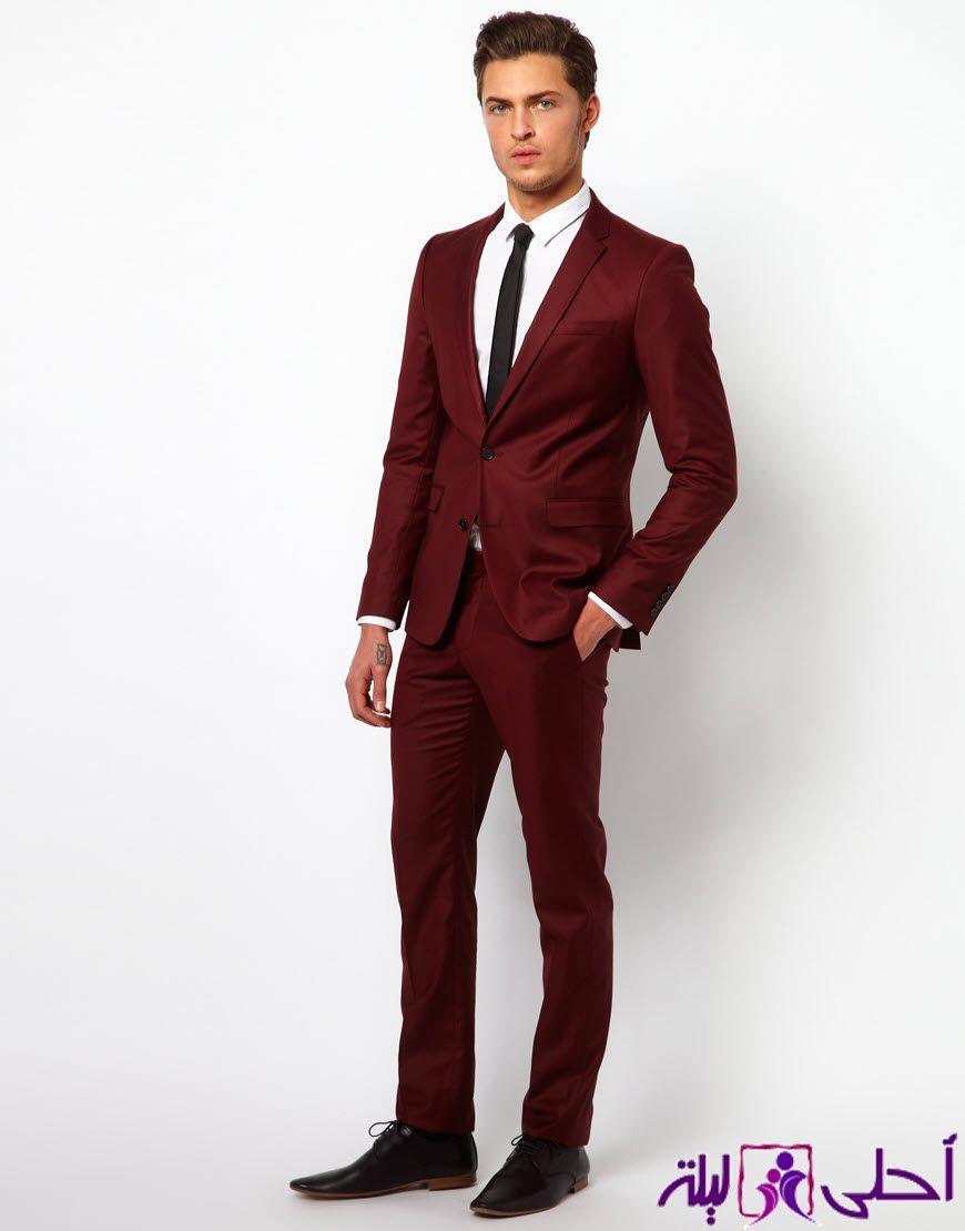 بدل رجاليه فيما يلي سترى الاتجاهات مذهلة وأحدث أزياء وتصاميم مختلفة من بدل زفاف رجالي في مختل Burgundy Chiffon Bridesmaid Dresses Burgundy Suit Man About Town