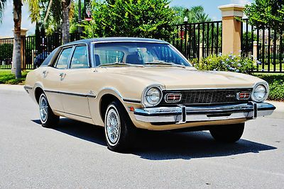 Absolutley Mint Just 7843 Miles 1973 Ford Maverick 302 V 8 Auto
