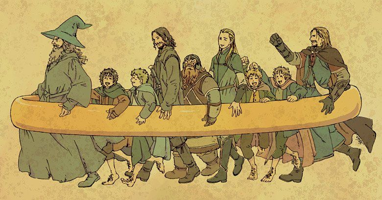 The Lord Of The Ring Fanart Lord Of The Rings Lotr Art Fellowship Of The Ring