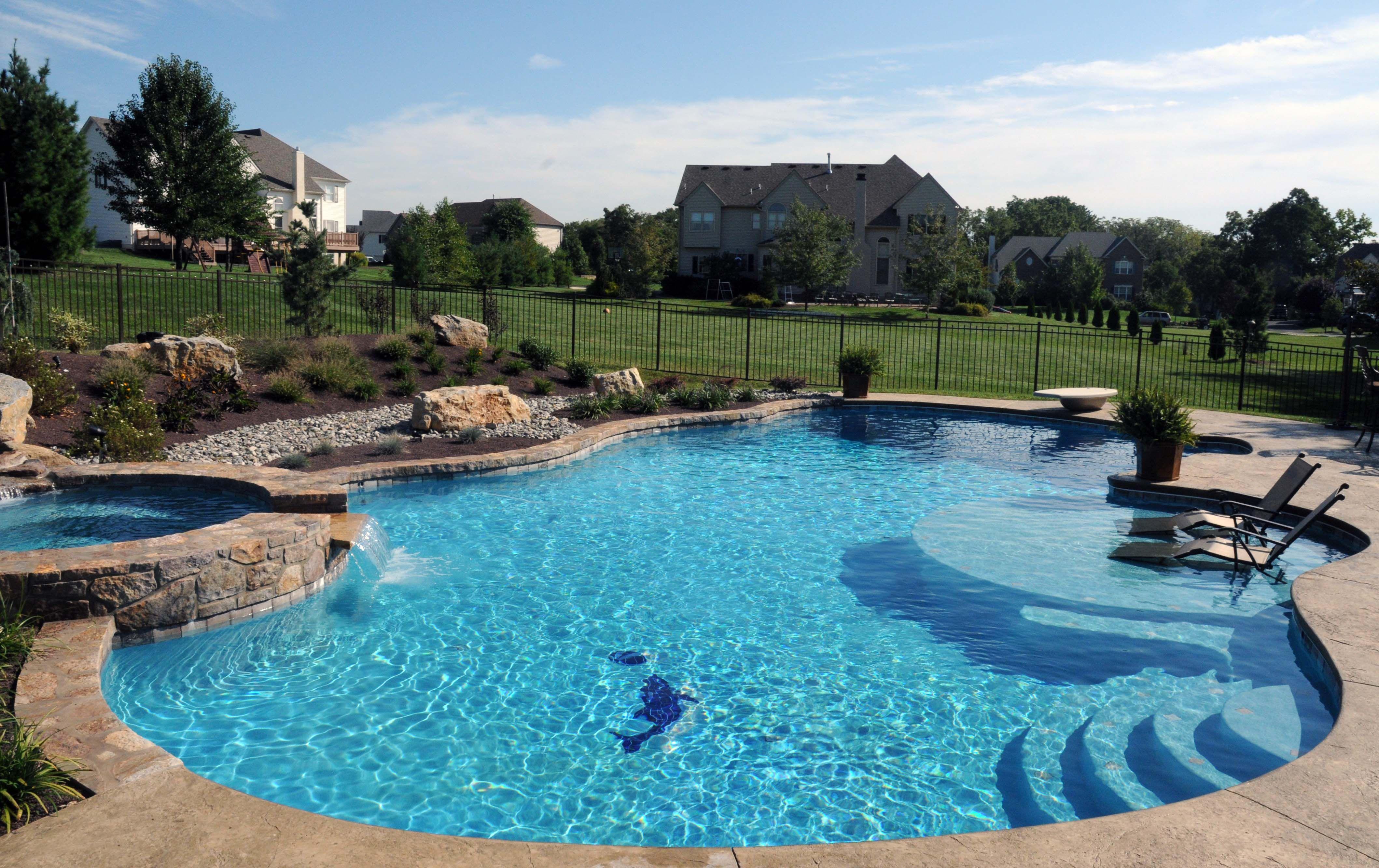 Inground swimming pools gallery arista pool and spa inc for Swimming pool gallery