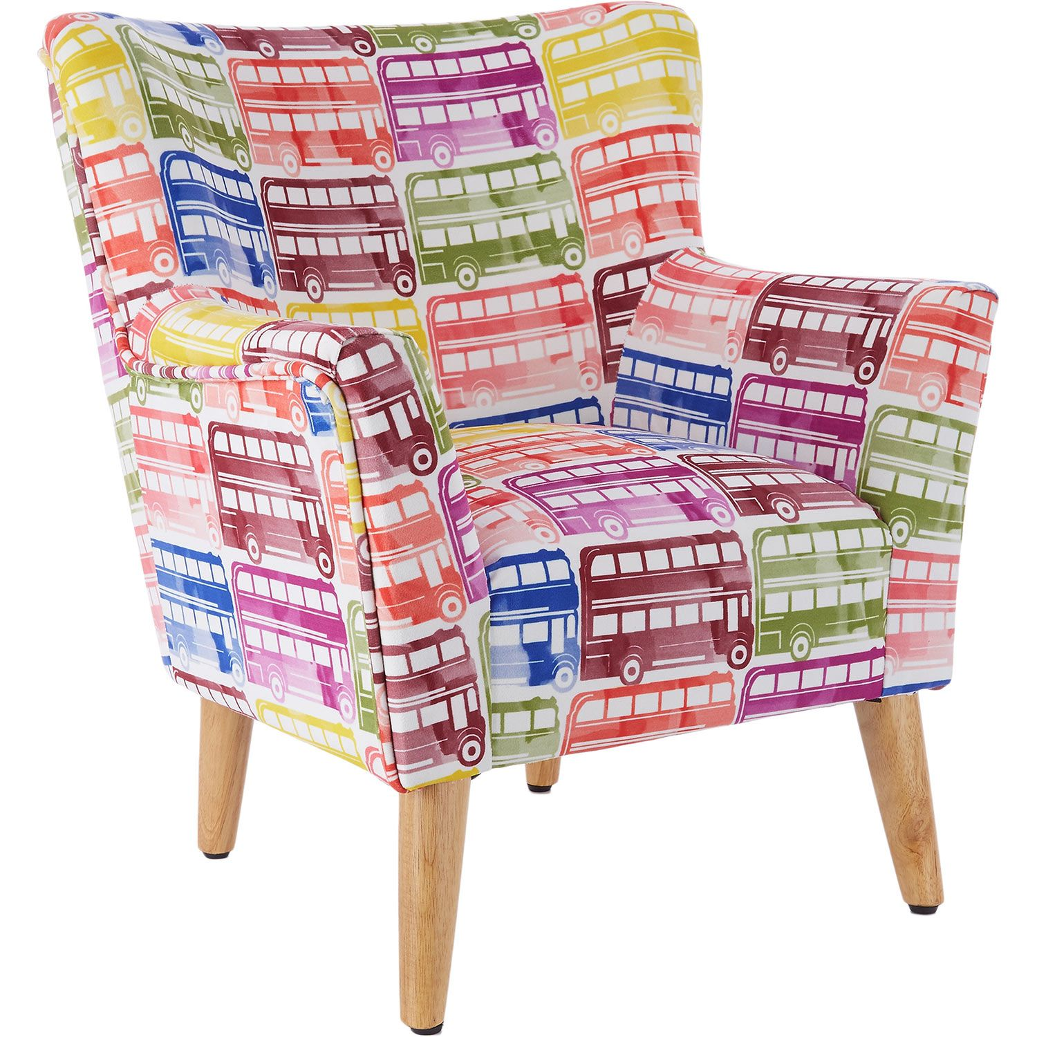 factory price cheapest price stable quality White Bus Print Mini Chair - TK Maxx | FOR BOYS | Mini chair ...