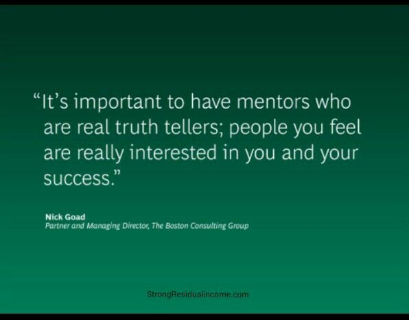 A mentor can push you further than your own capabilities & help you reach your goals quicker than you could ever imagine!