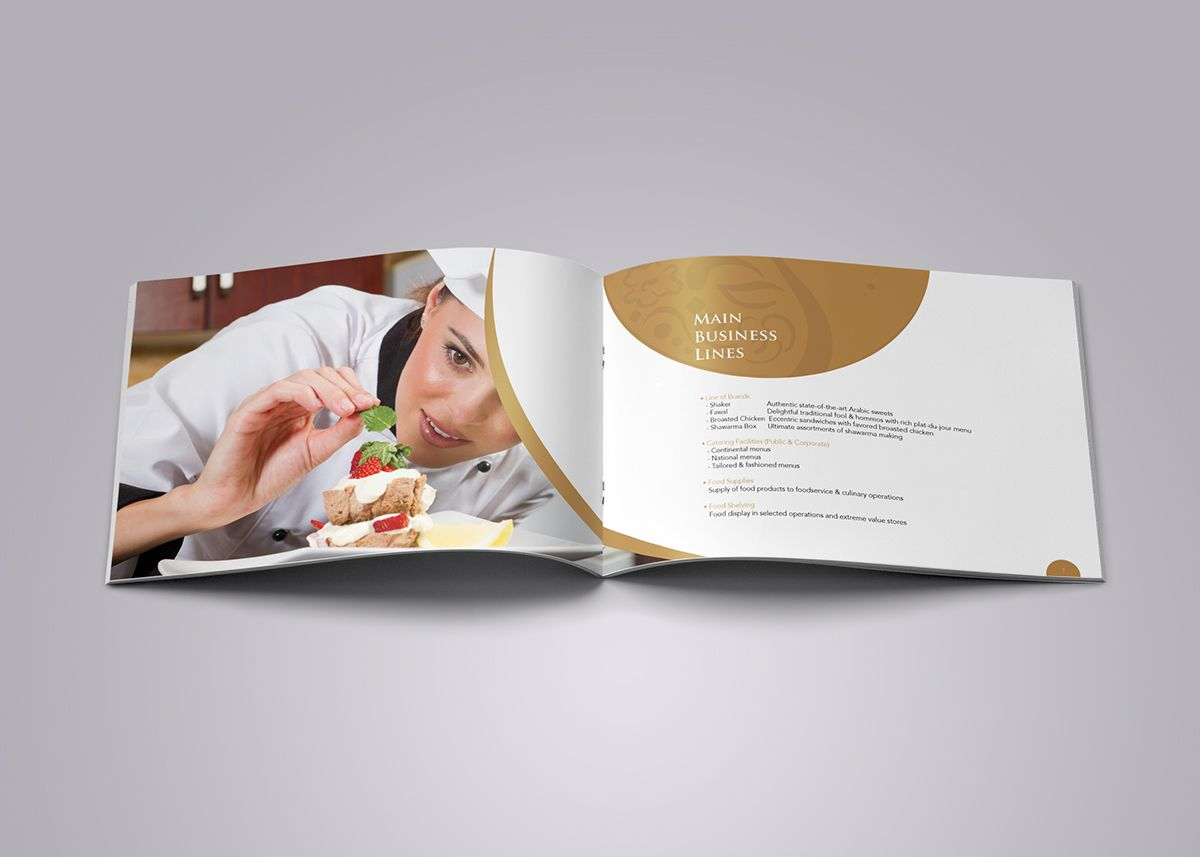Company Profile On Behance With Images Company Profile
