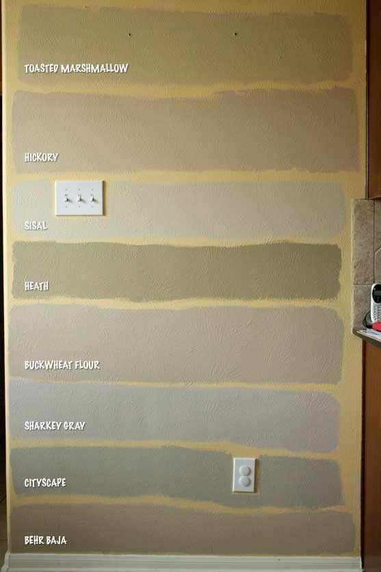 Martha Paint Color Chart All Of The Paints Except Bottom One Are From S