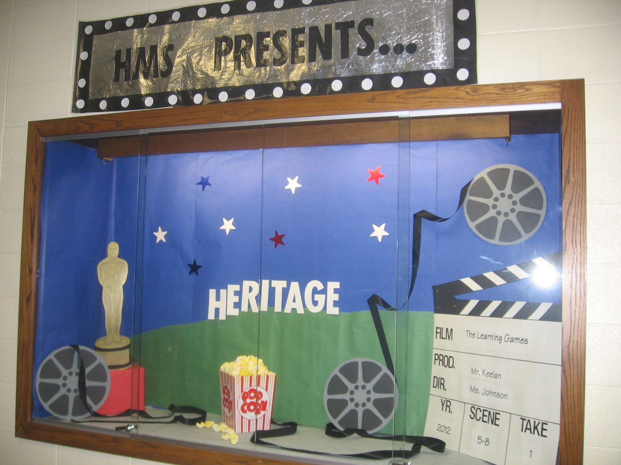 Hollywood Bulletin Boards for School
