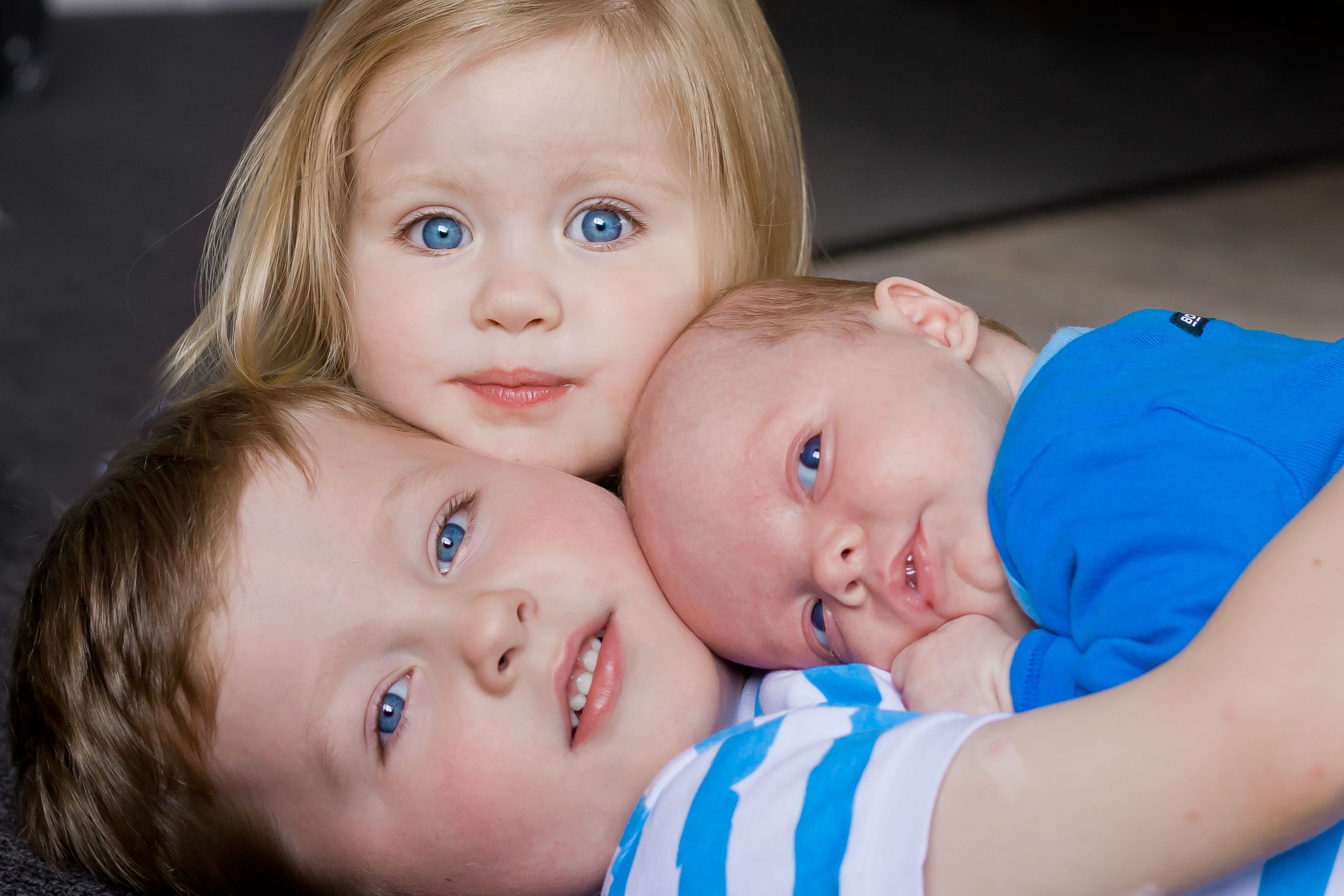 Great sibling pose - worked well