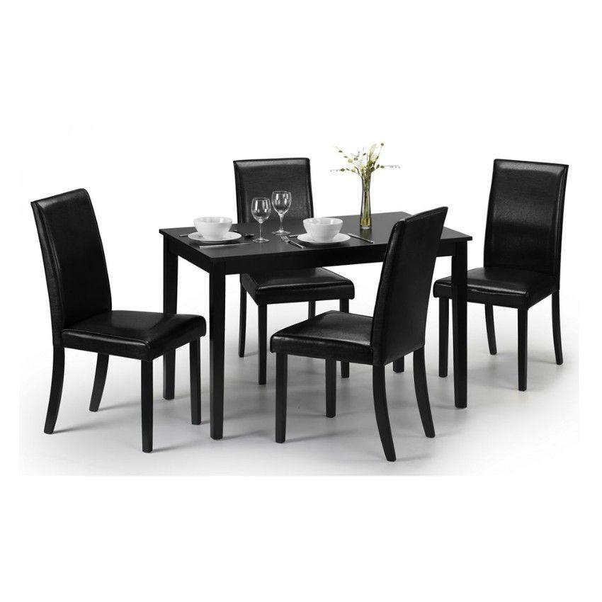 60 Modern Dining Room Design Ideas Black Dining Set Wooden