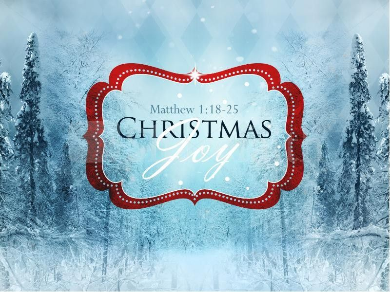 Christmas Joy To The World Powerpoint Sermon Template A Stunning