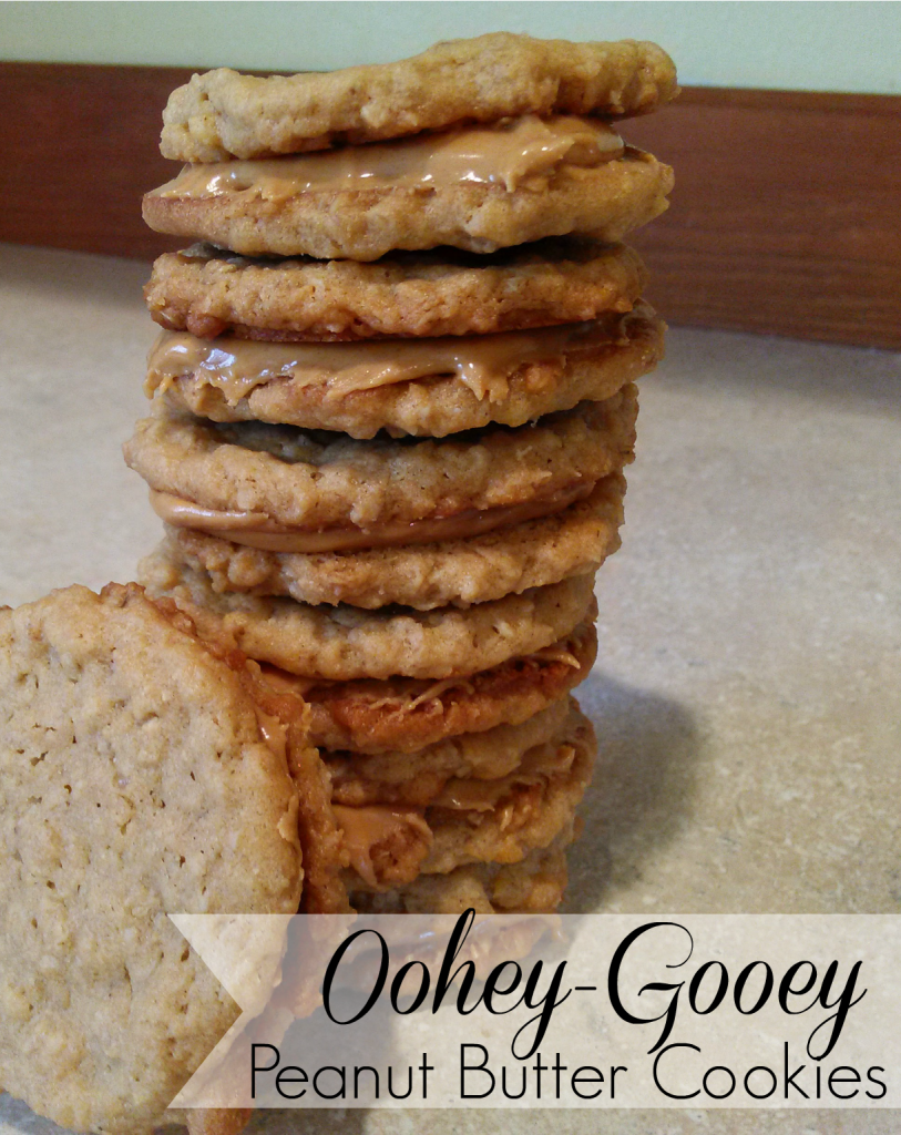 Oohey-Gooey Peanut Butter Cookies #ad #SkippyYippee