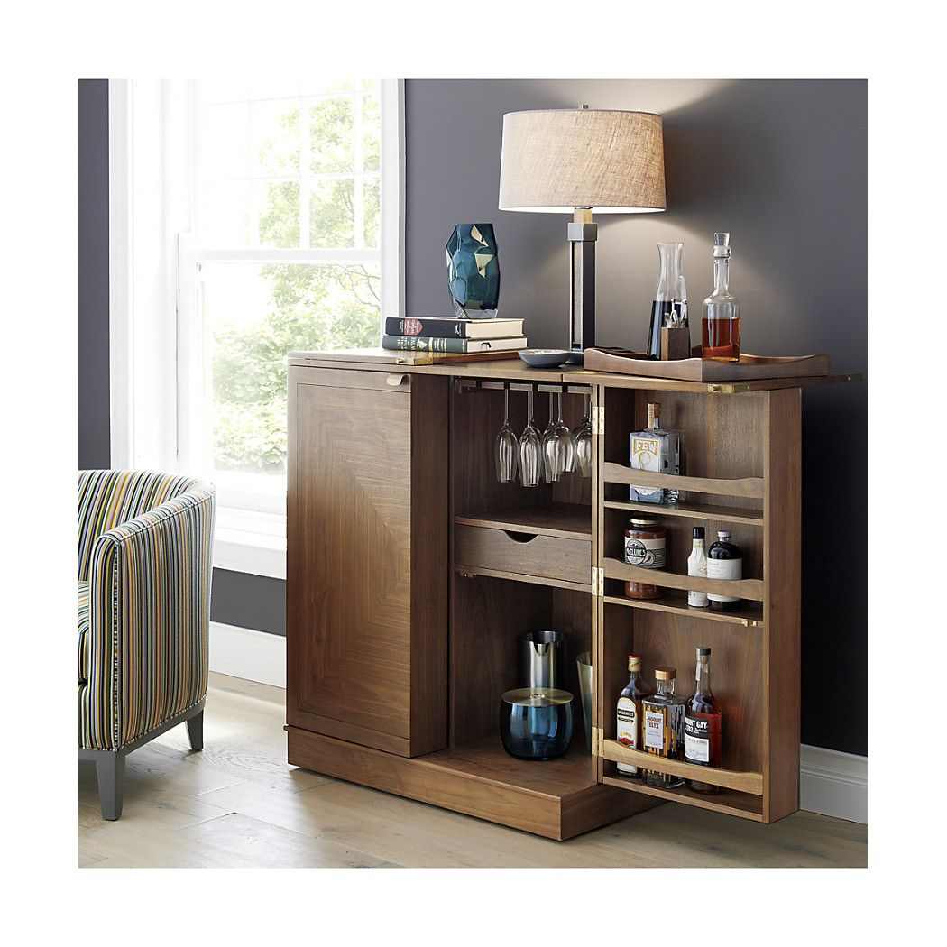 Maxine Bar Cabinet Reviews Crate And Barrel Bar Cabinet Home Bar Cabinet Bars For Home