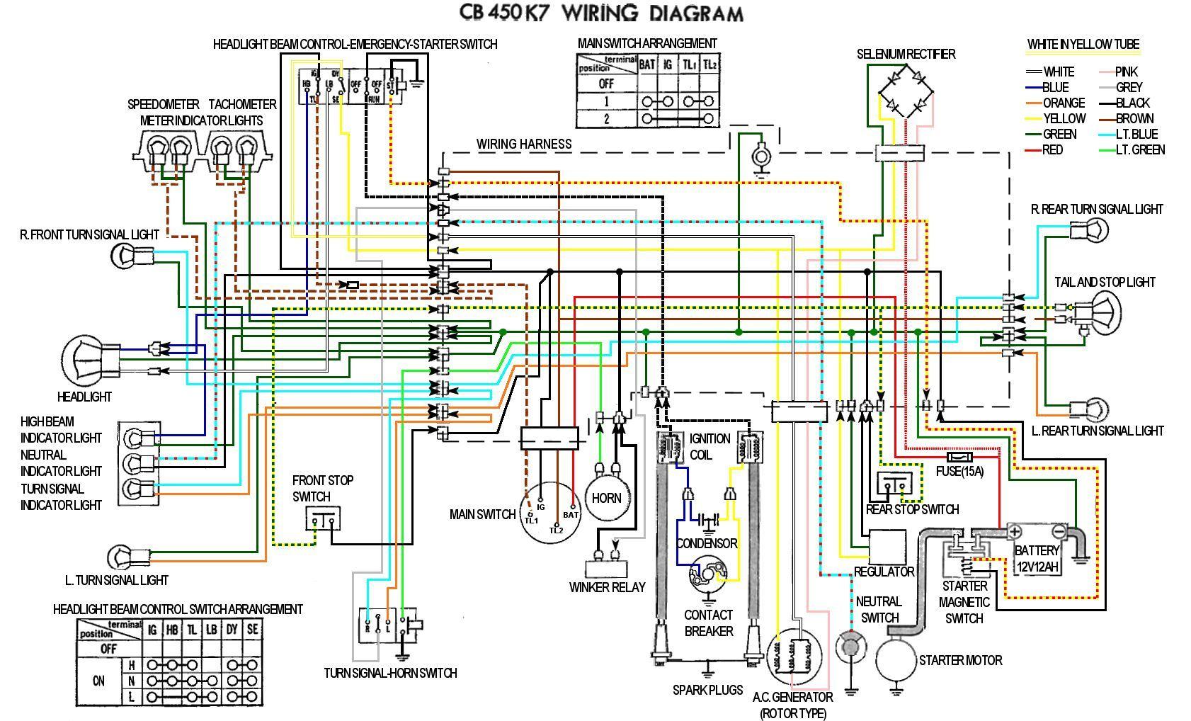 Honda Nighthawk Wiring Diagram