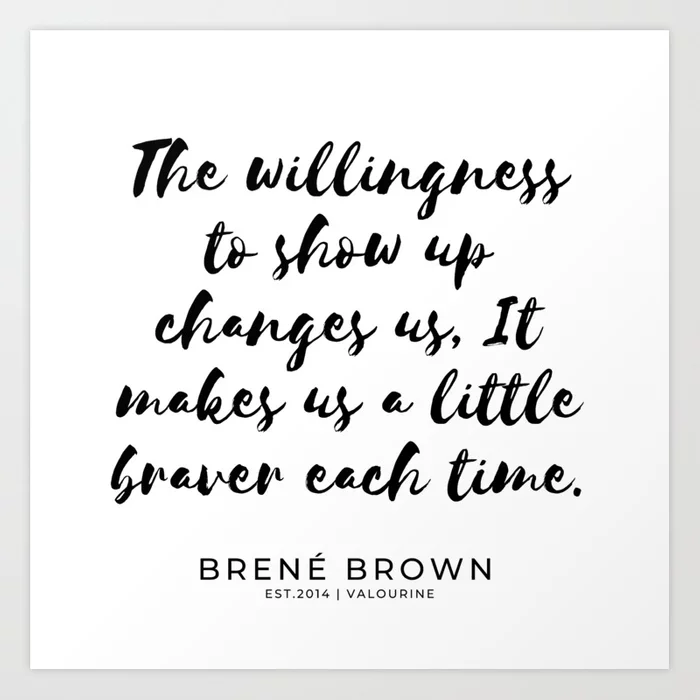 19   | Brene  Brown Quotes  | 190806 | Art Print by Quotes And Sayings