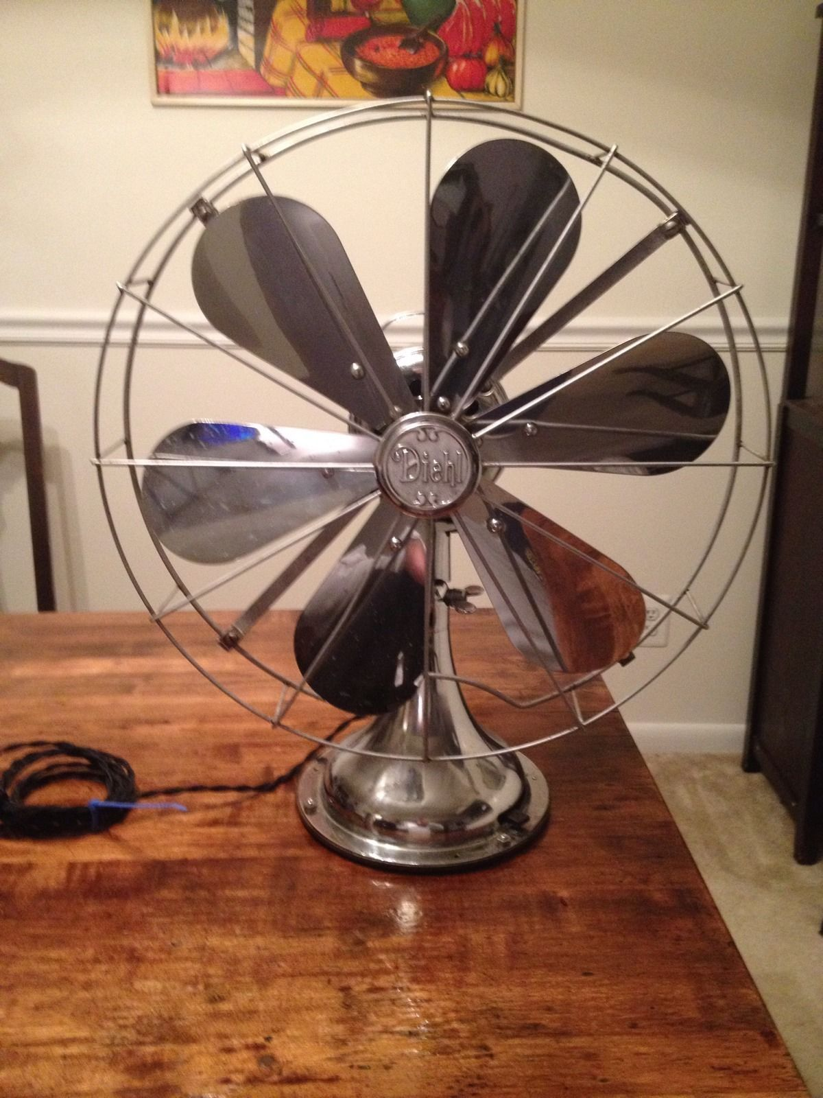Vintage Looking Fan Vintage Diehl 6 Blade Chrome Electric Fan I Am Looking To Buy One