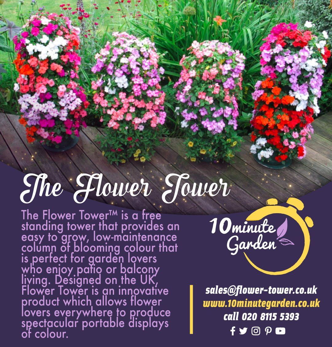 Flower Tower is an innovative product which allows flower