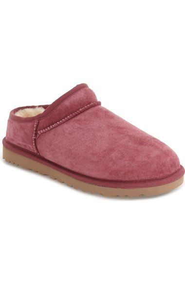 Ugg Classic Slippers Maroon