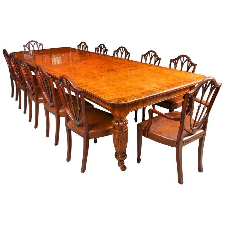 Oak Victorian Extending Dining Table