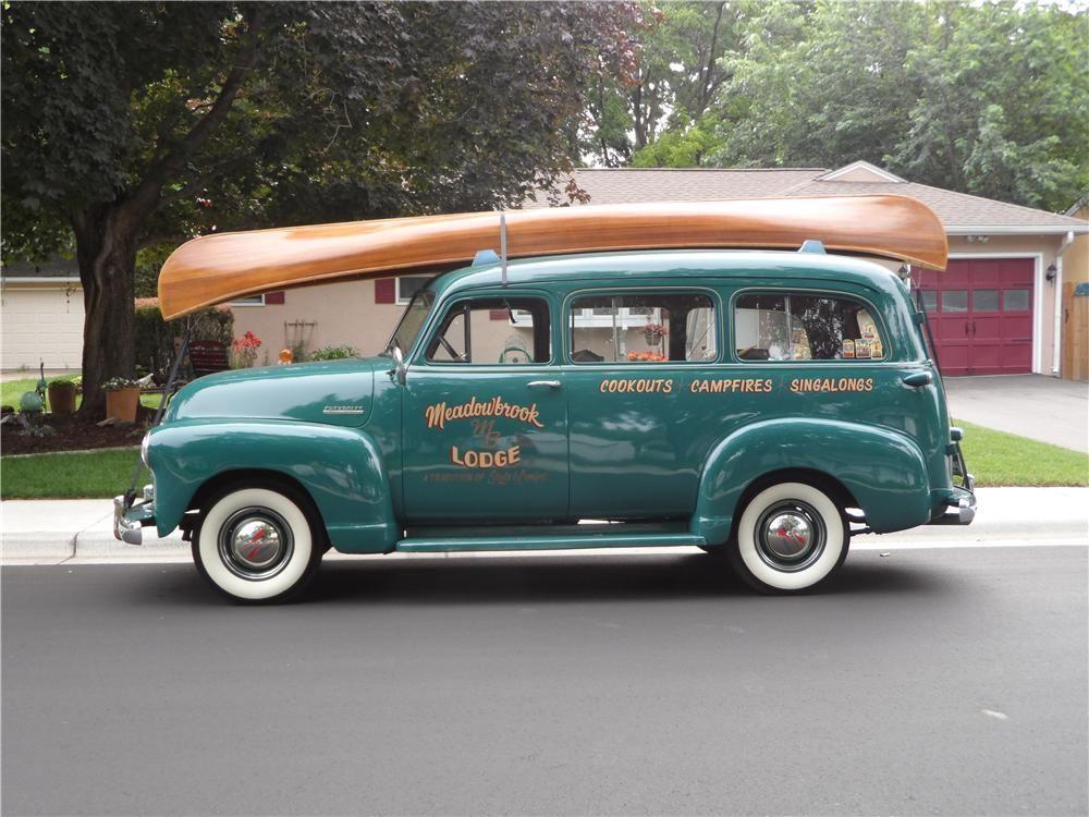 1952 CHEVROLET SUBURBAN SUV - Side Profile - 157385   Cool car shots ...