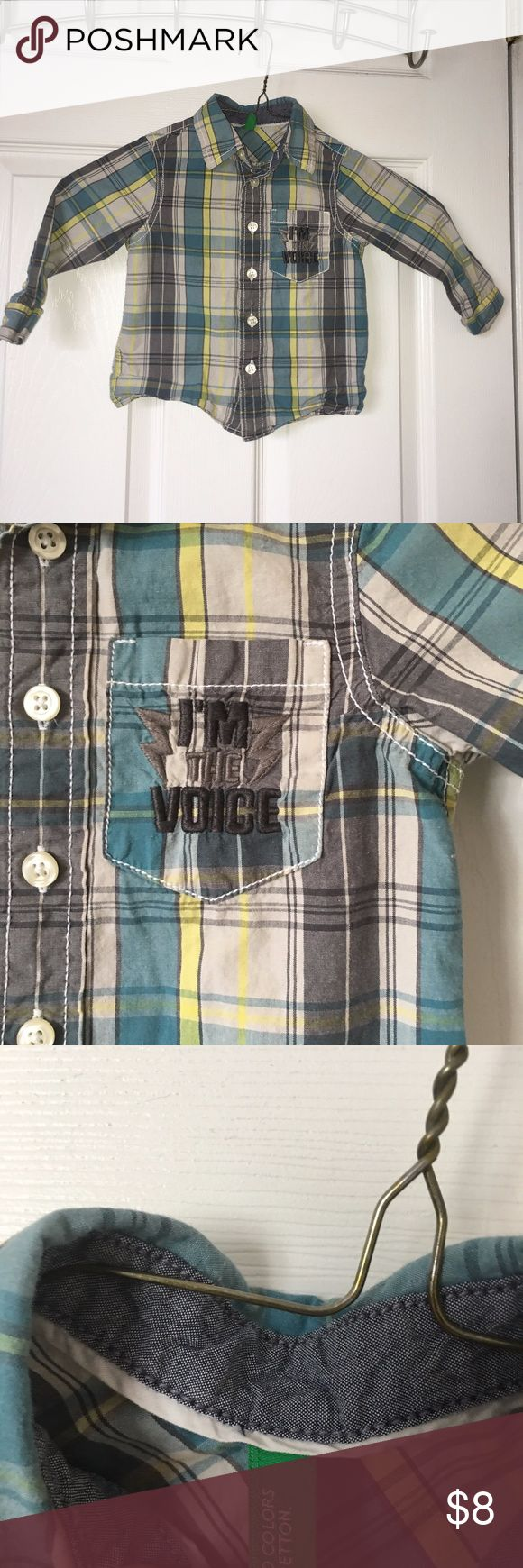 Boys Baby Plaid Button Down Shirt Lot of 2 Boys Baby Plaid Button Down Shirt Lot of 2 Inc. United Colors of Benneton Sz 1y. Excellent condition, no rips, no tears, no stains.#unitedcolorsofbenetton #boysunitedcolorsofbenetton #boystoddlerlongsleeveshirt #toddlerlongsleevebuttondownshirt #toddlerunitedcolorsofbennetonplaidshirt United Colors Of Benetton Shirts & Tops Button Down Shirts