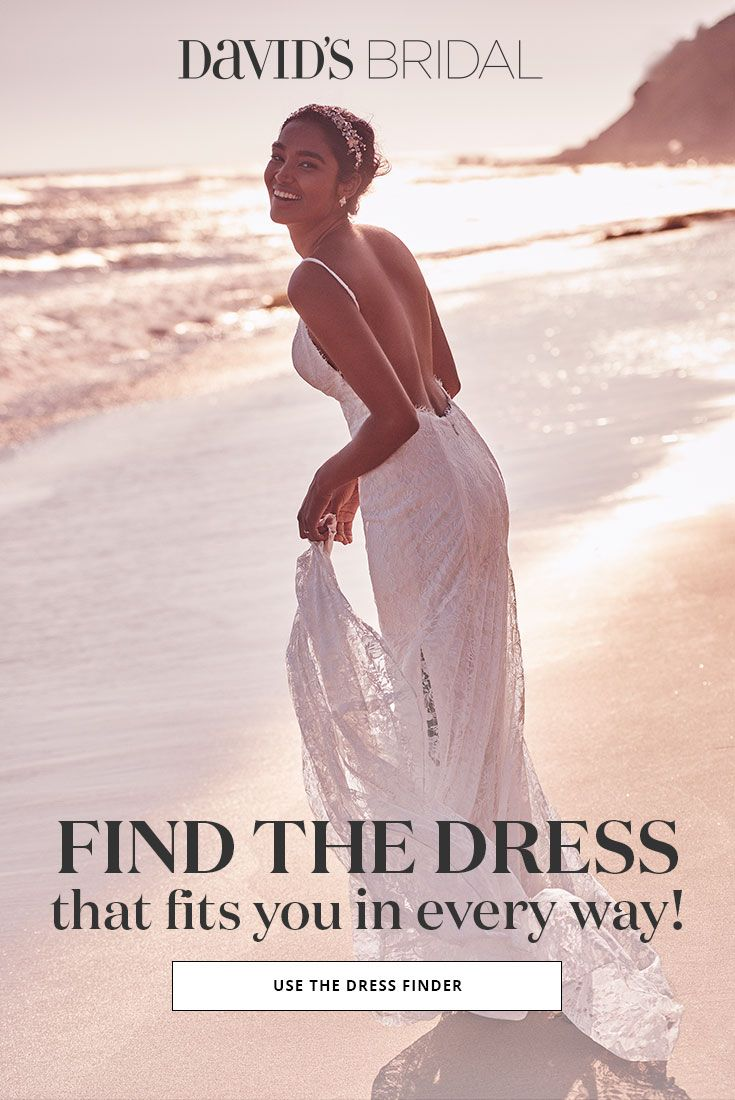 Pinpoint the style that brings out your best with the davidus bridal