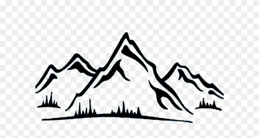 Download Hd Mountain Clipart Lake District Mountain Range Sticker Png Download And Use The Free Clipart For Your C Mountain Clipart Mountain Range Clip Art