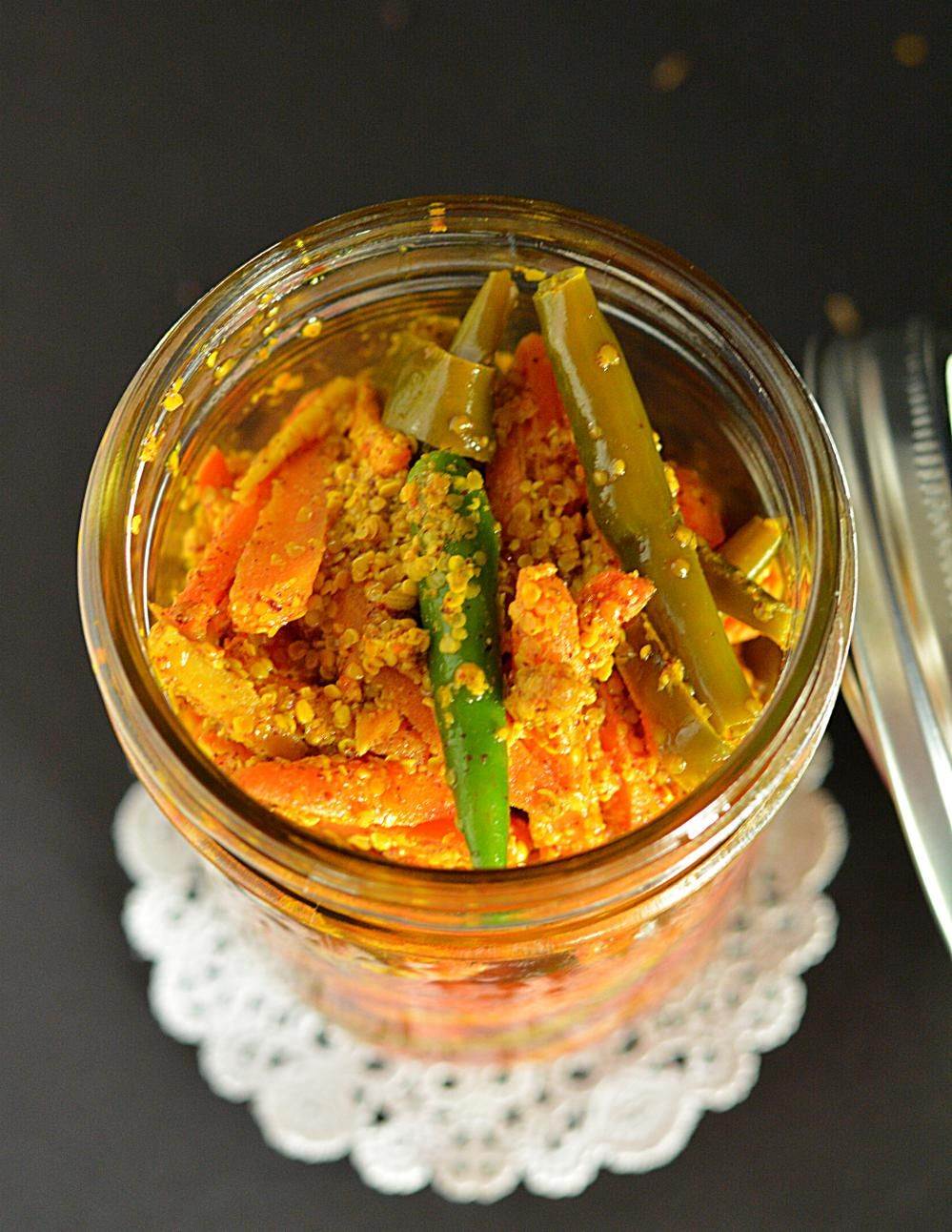 Carrot pickle recipe gajar ka achar instant carrot pickle recipe