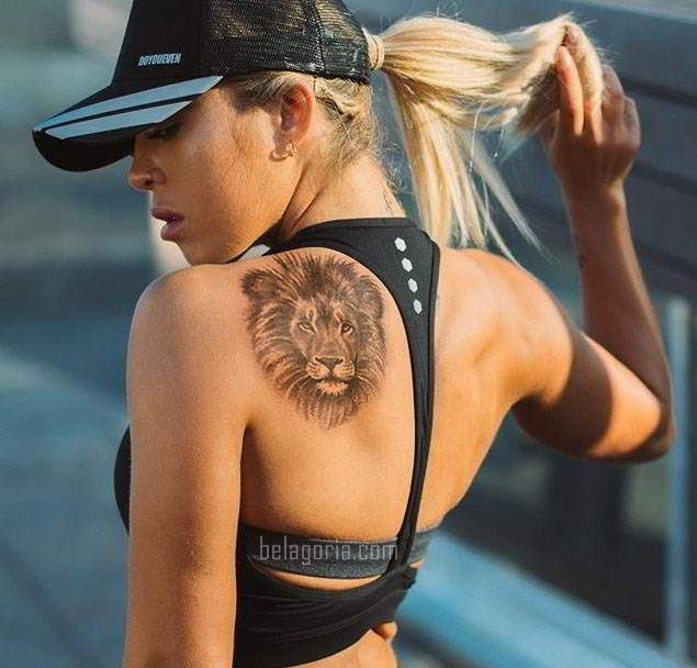 75 Tatuajes de leones para mujer 2018, brillantes!