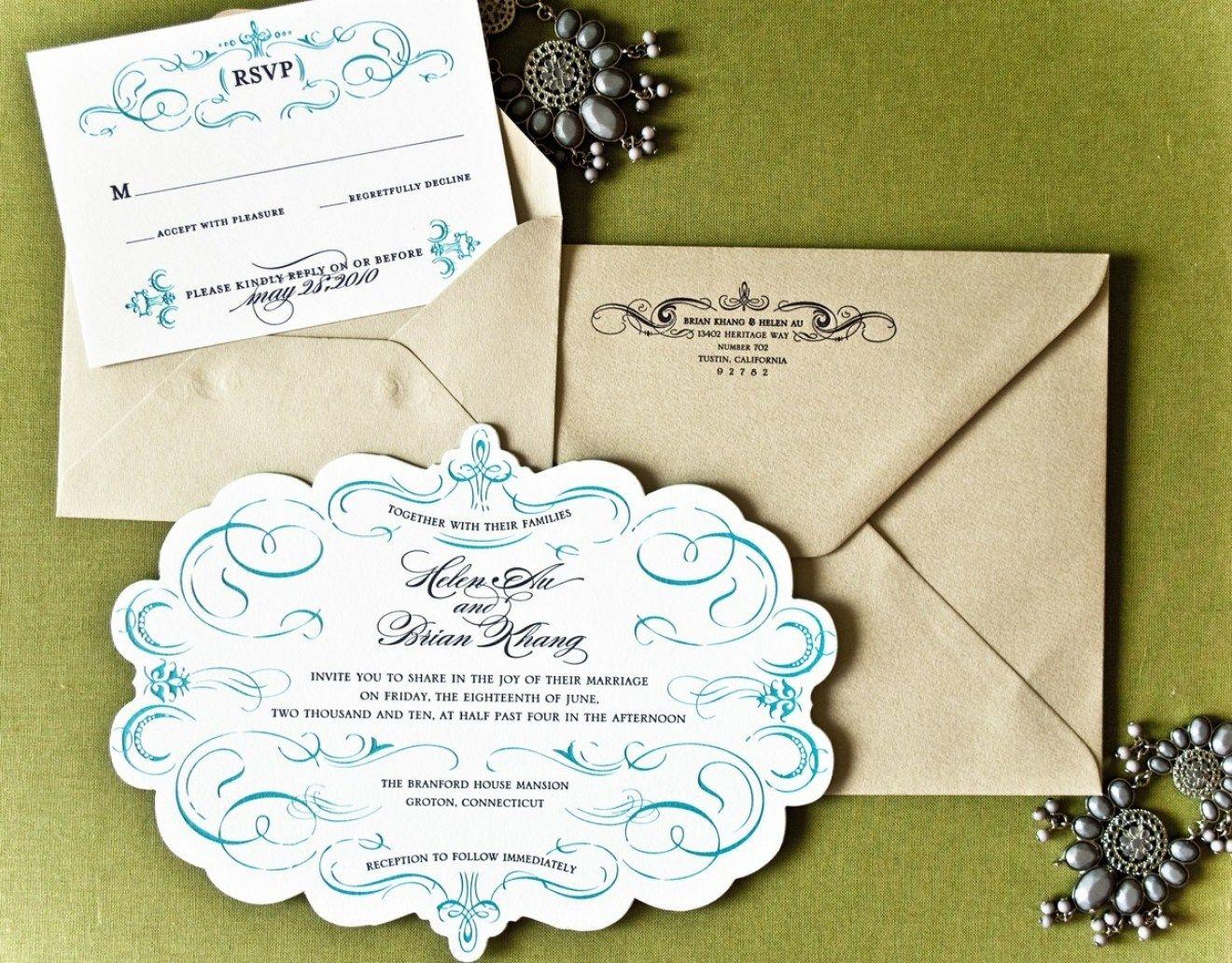 Best 30 Invitation Wedding Unique Design Custom   Wedding unique ...