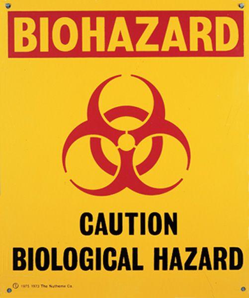 Cardinal Health Pictorial Safety Signs Schilder Handarbeit